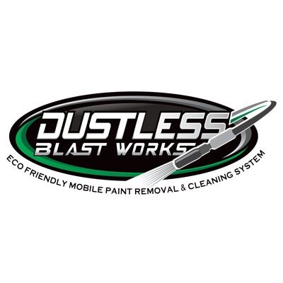 Dustless Blast Works Logo Design