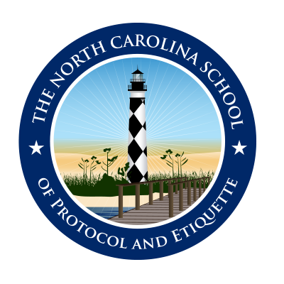 North Carolina School of Protocol & Etiquette Logo Design