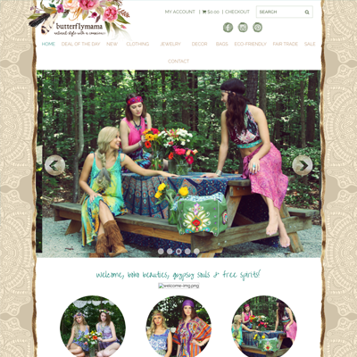 Butterflymama Website Design | Apex, NC